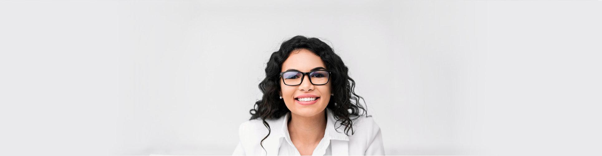 smiling consultant
